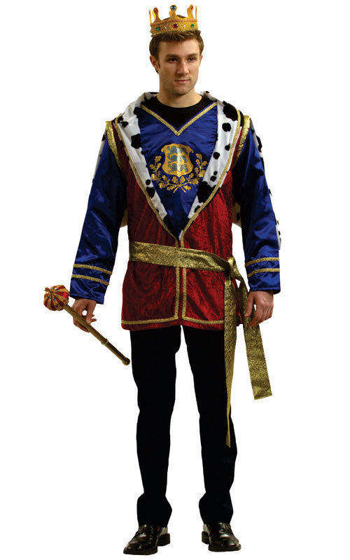 Mens Noble King Costume - HalloweenCostumes4U.com - Adult Costumes