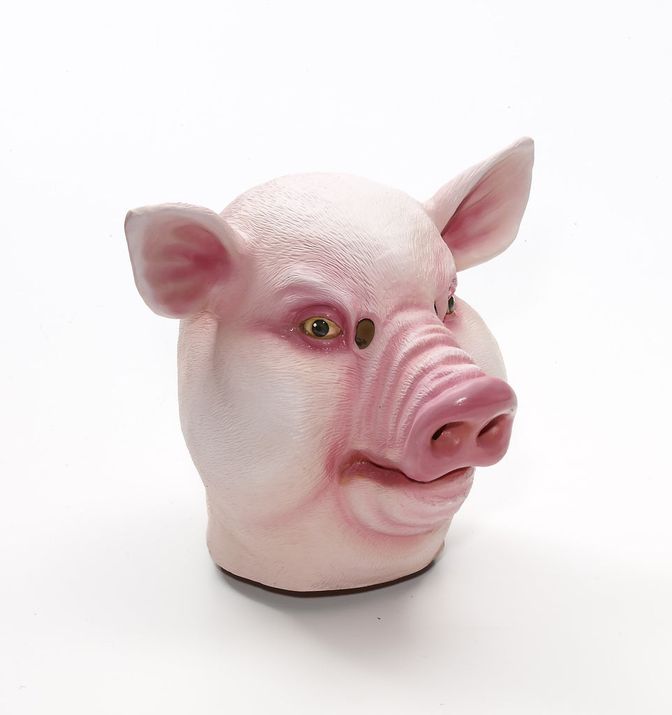 Mask-Pig-Latex - HalloweenCostumes4U.com - Accessories