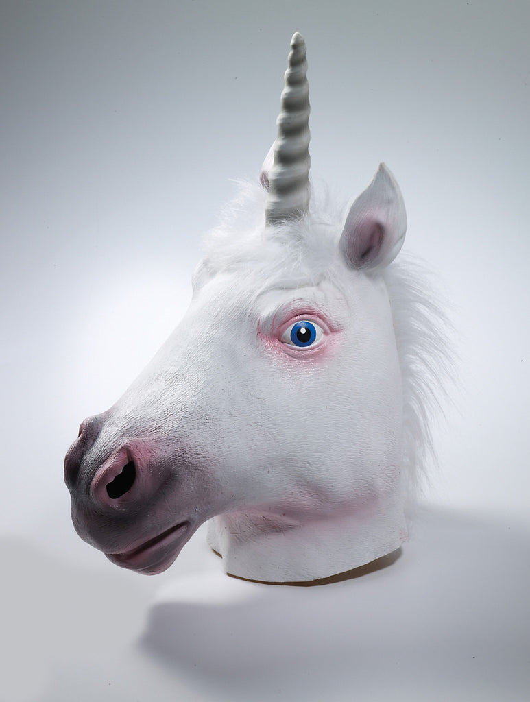Mask-Unicorn-Latex - HalloweenCostumes4U.com - Accessories