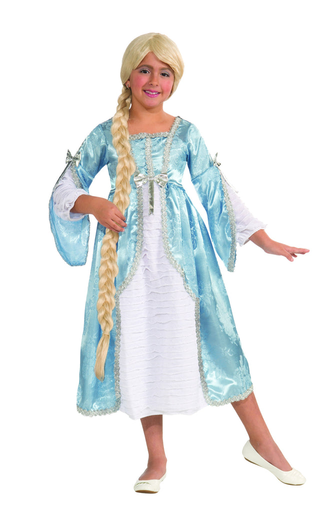 Girls Princess Of The Tower Costume - HalloweenCostumes4U.com - Kids Costumes