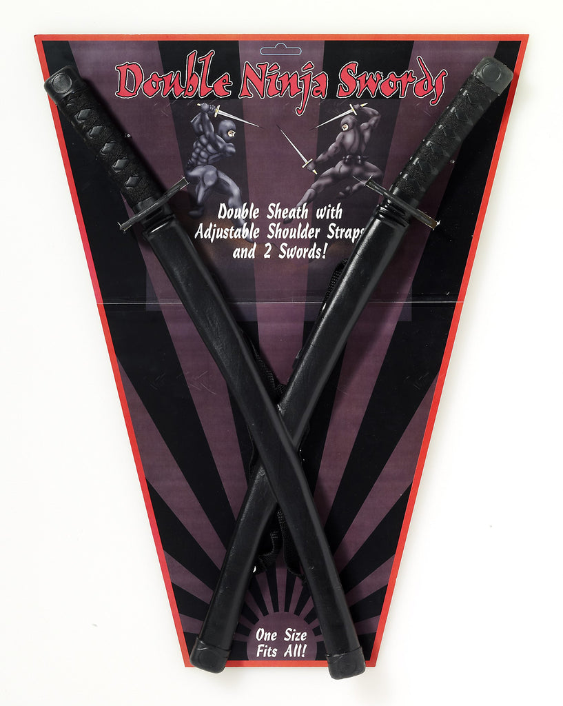 Double Ninja Sword - HalloweenCostumes4U.com - Accessories