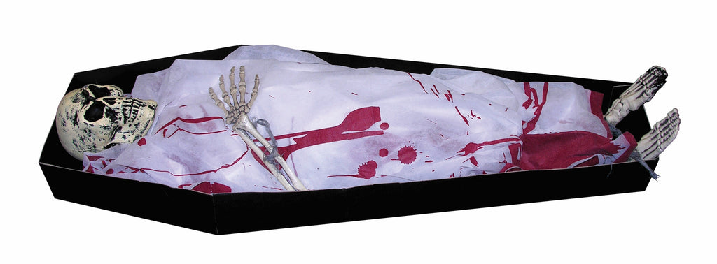 Coffin With Skeleton - HalloweenCostumes4U.com - Accessories