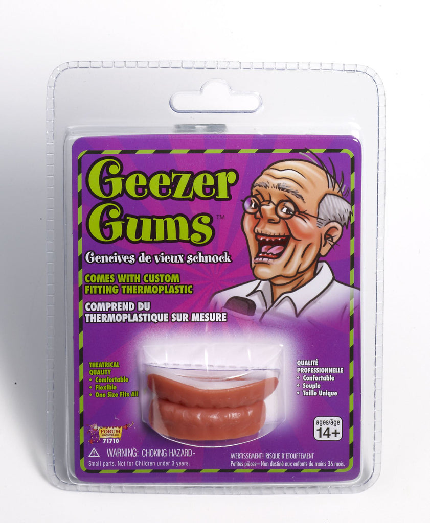 Geezer Gums - HalloweenCostumes4U.com - Accessories