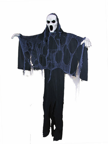6' Hanging Screaming Ghost Prop - HalloweenCostumes4U.com - Decorations