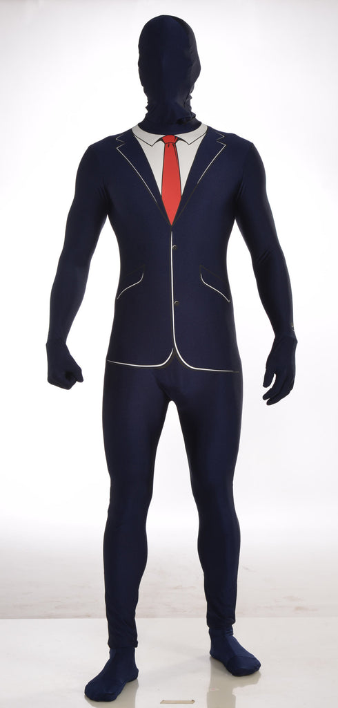 Costume - Disapearing Man - Business Suit - HalloweenCostumes4U.com - Costumes