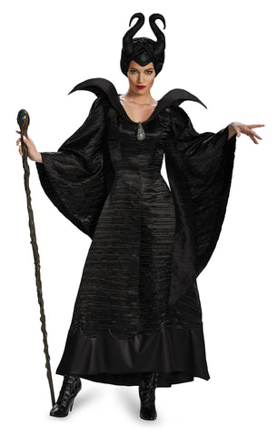Womens Deluxe Maleficent Christening Gown - HalloweenCostumes4U.com - Adult Costumes