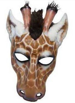 Giraffe Mask - HalloweenCostumes4U.com - Accessories