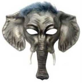 Elephant Mask - HalloweenCostumes4U.com - Accessories