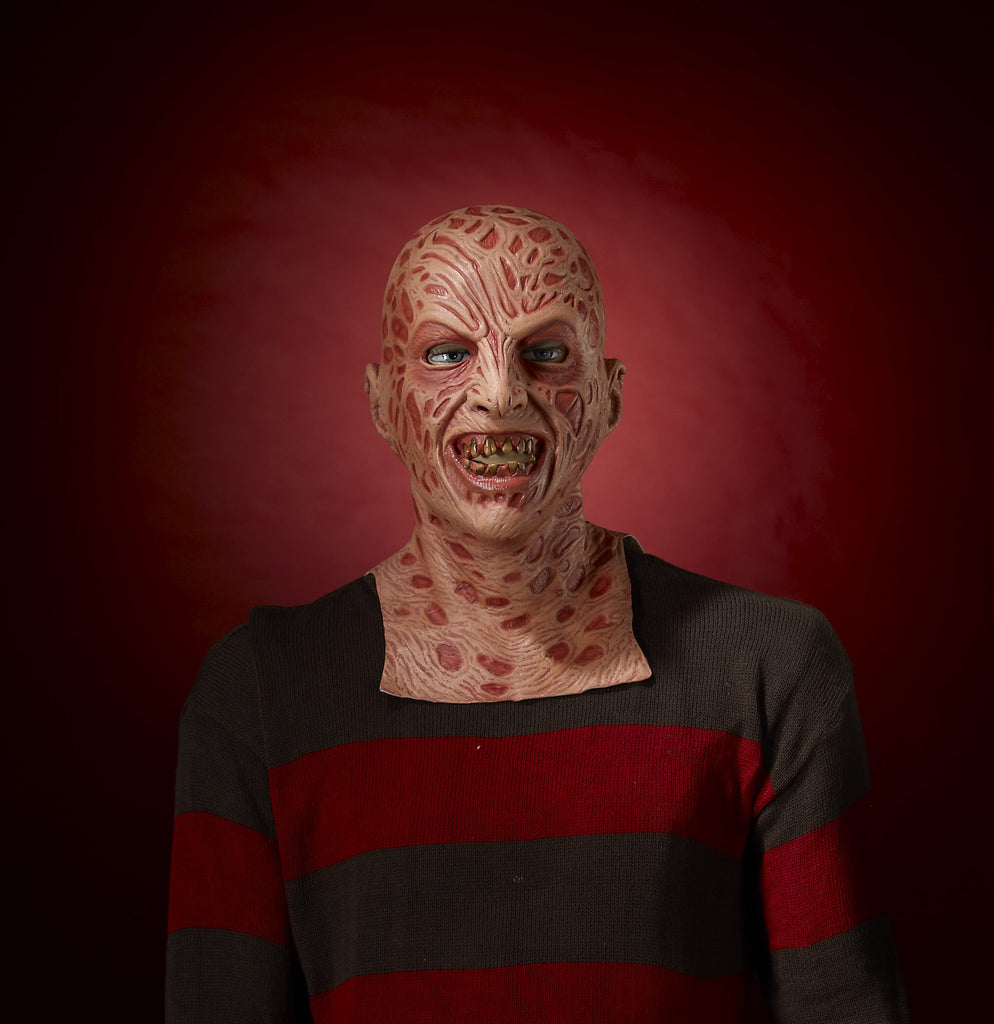 Freddy Krueger Mask - HalloweenCostumes4U.com - Accessories