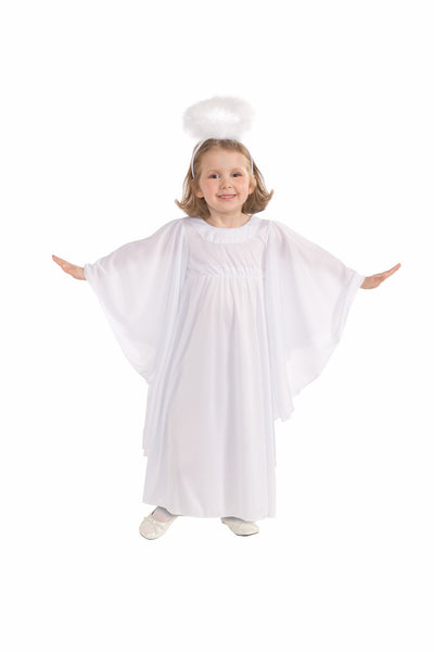 Girls Angel Costume - HalloweenCostumes4U.com - Kids Costumes - 2