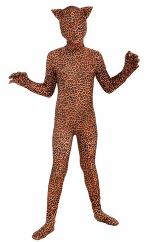 Leopard Second Skin Suit-Med - HalloweenCostumes4U.com - Kids Costumes