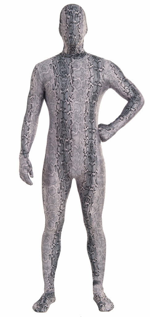 Costume-Disap.Man-Snake-Gray - HalloweenCostumes4U.com - Costumes