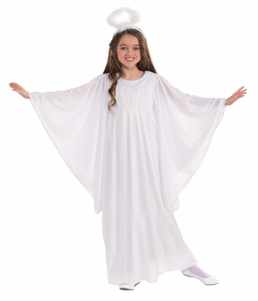 Girls Angel Costume - HalloweenCostumes4U.com - Kids Costumes - 1