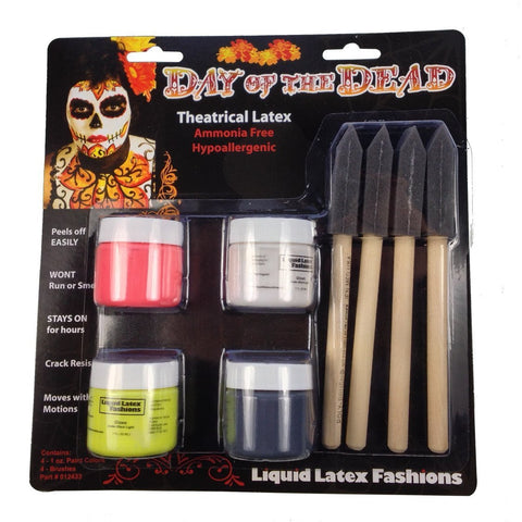 Day of the Dead Liquid Latex Kit