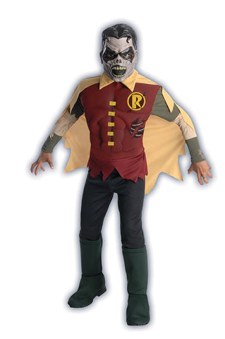 Boys Batman Robin Zombie Costume