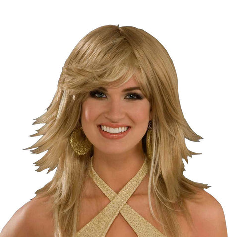 70's Disco Lady Wig - HalloweenCostumes4U.com - Accessories