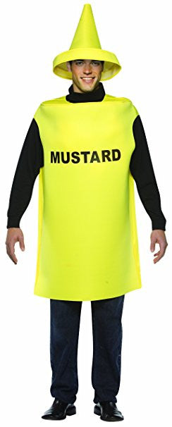 Adults Mustard Bottle Costume