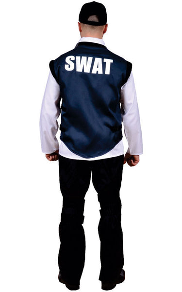 Men SWAT Officer Costume - HalloweenCostumes4U.com - Adult Costumes - 2