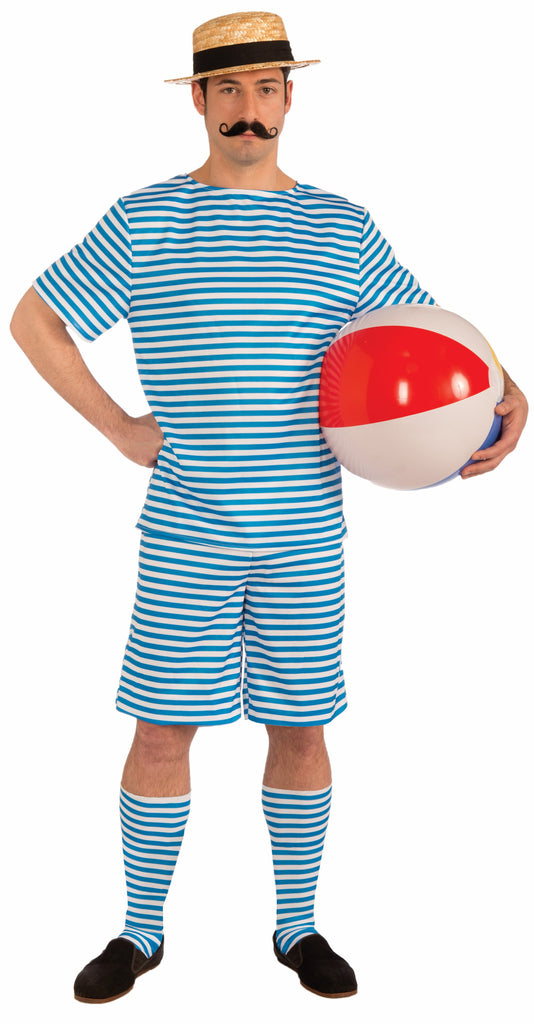 Mens Retro Bathing Suit Costume - HalloweenCostumes4U.com - Adult Costumes