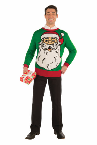 Christmas Sweater Santa - HalloweenCostumes4U.com - Holidays
