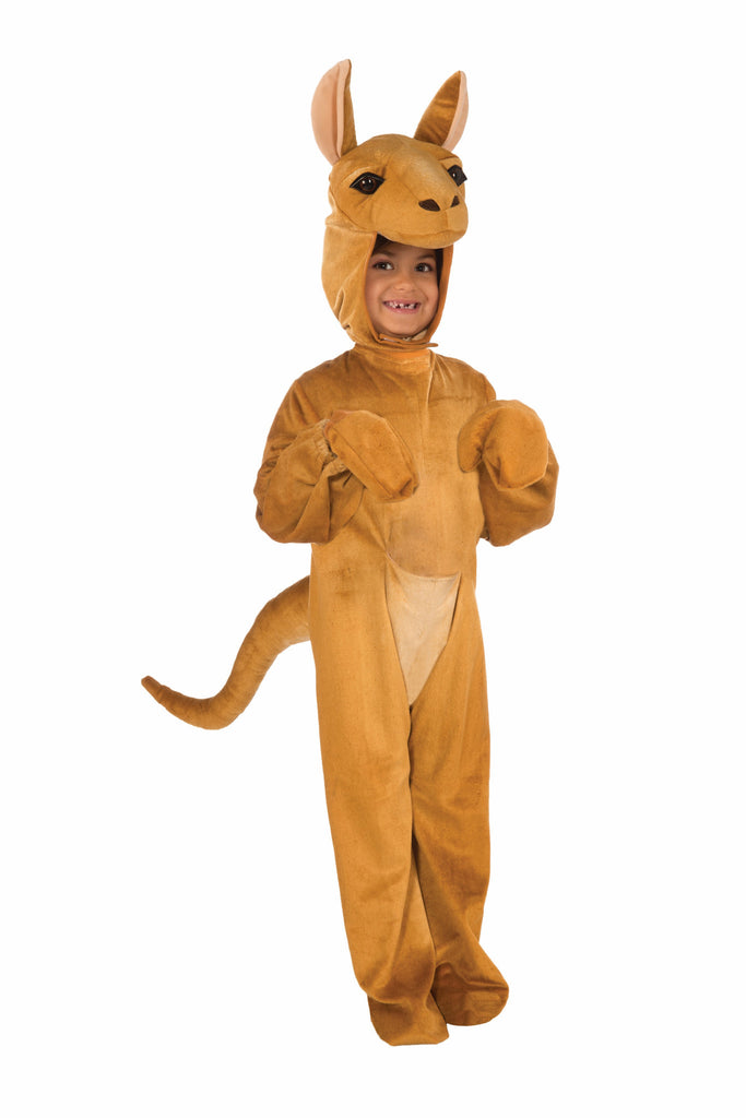 Toddlers/Kids Plush Kangaroo Costume - HalloweenCostumes4U.com - Kids Costumes