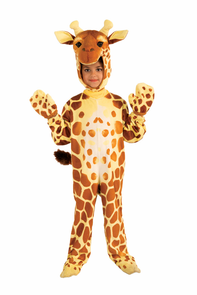 Toddlers/Kids Plush Giraffe Costume - HalloweenCostumes4U.com - Kids Costumes
