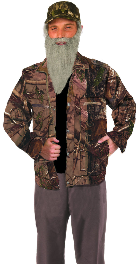 Hunting Man-Camo Jacket - HalloweenCostumes4U.com - Accessories