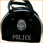 Black Police Bag - HalloweenCostumes4U.com - Accessories