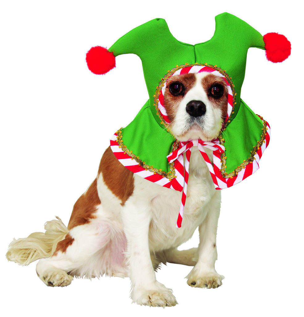 Pet-Santa's Pet Elf Hat - HalloweenCostumes4U.com - Pet Costumes & Accessories