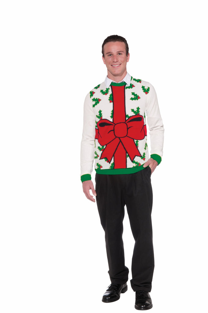 Adults All Wrapped Up Sweater - HalloweenCostumes4U.com - Adult Costumes