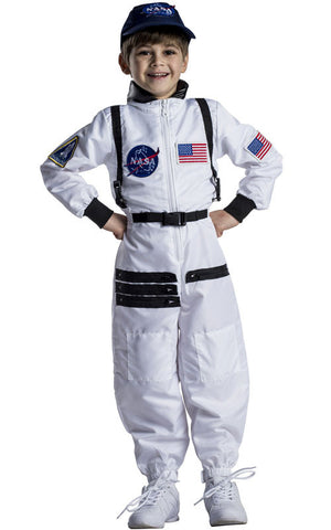 Kids Astronaut Space Suit Costume - HalloweenCostumes4U.com - Kids Costumes