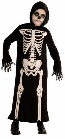 Boys Skeleton Reaper Costume - HalloweenCostumes4U.com - Kids Costumes