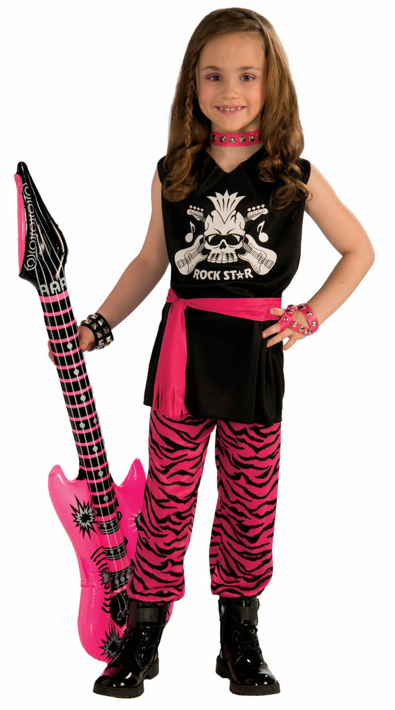 Girls Rock Star Costume - HalloweenCostumes4U.com - Kids Costumes