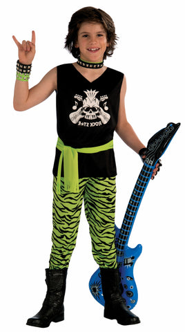 Boys Rock Star Dude Costume - HalloweenCostumes4U.com - Kids Costumes