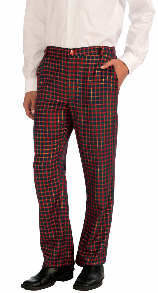 Plaid Christmas Pants - HalloweenCostumes4U.com - Costumes