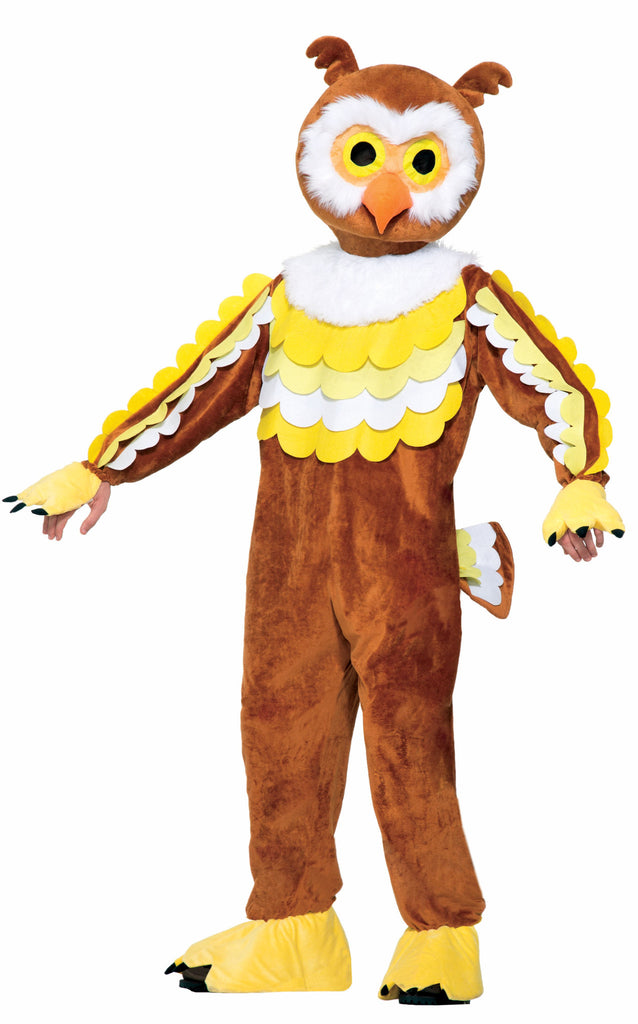 Mascot - Give A Hoot (Owl) - HalloweenCostumes4U.com - Adult Costumes