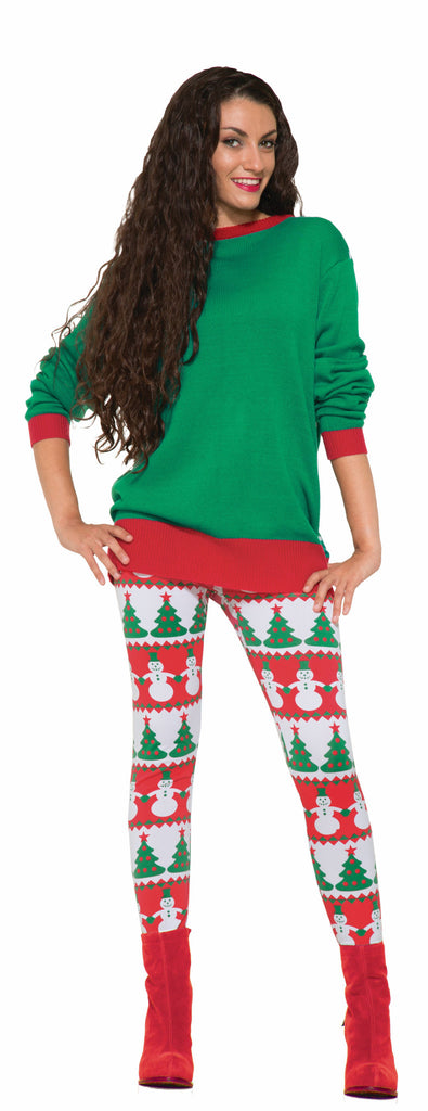 Christmas Leggings - HalloweenCostumes4U.com - Costumes