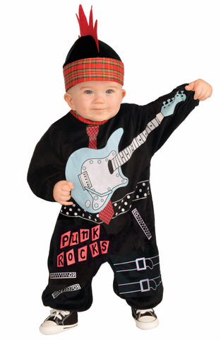 Lil' Rock Star Punk Baby Boy - HalloweenCostumes4U.com - Infant & Toddler Costumes