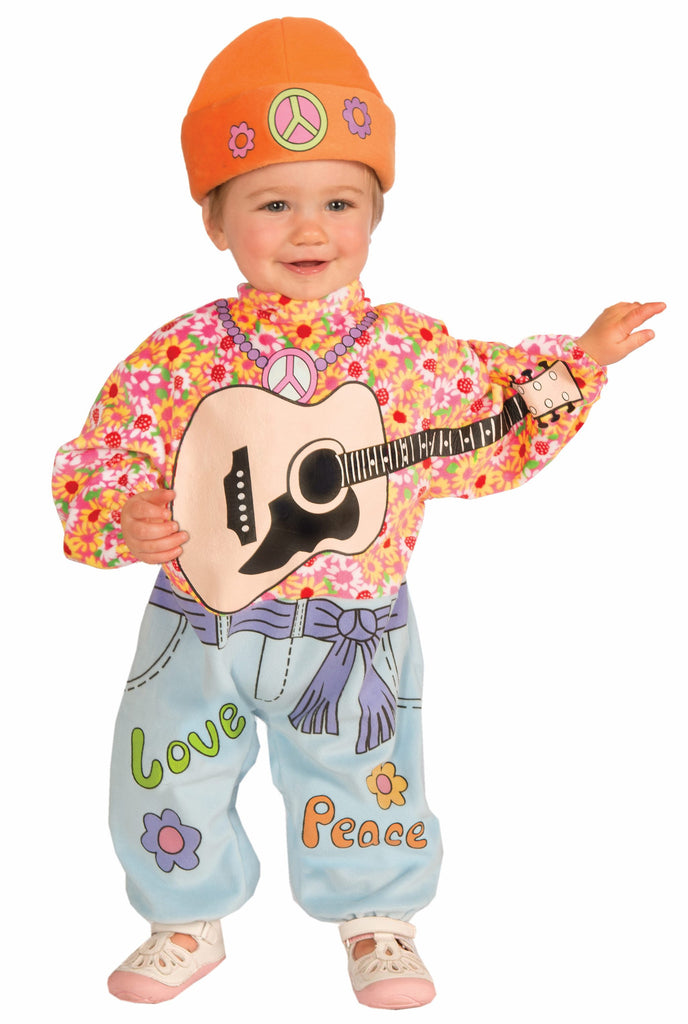 Lil' Rock Star Baby Hippie - HalloweenCostumes4U.com - Infant & Toddler Costumes