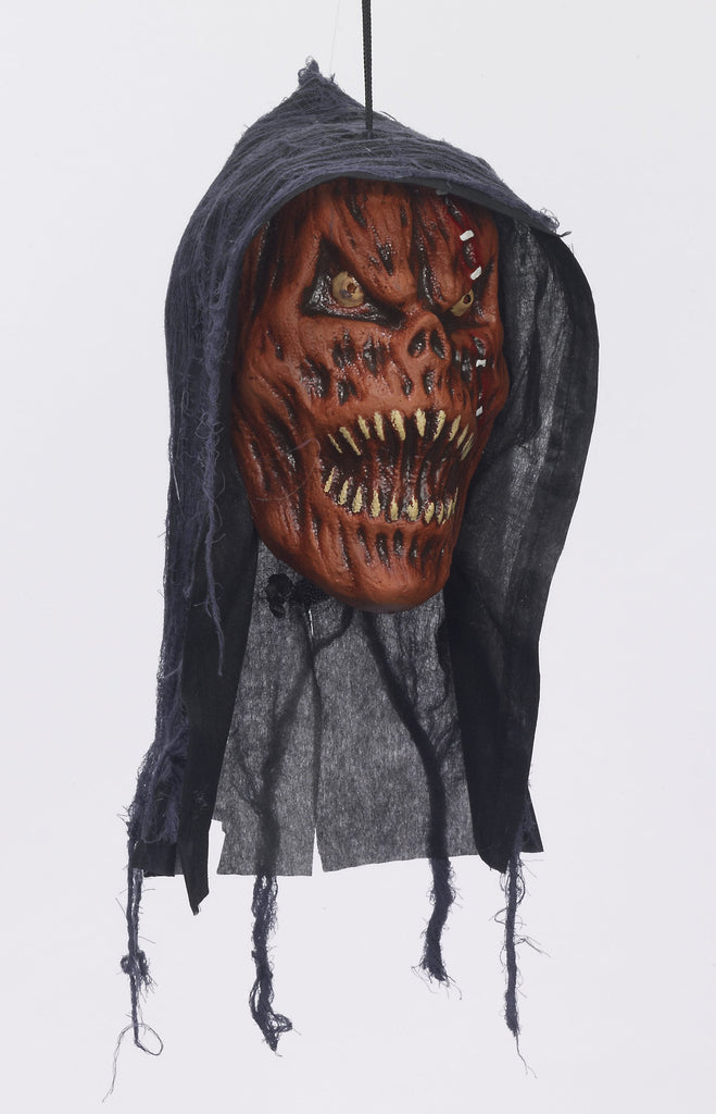 Hanging Head-Pumpkin Reaper - HalloweenCostumes4U.com - Accessories