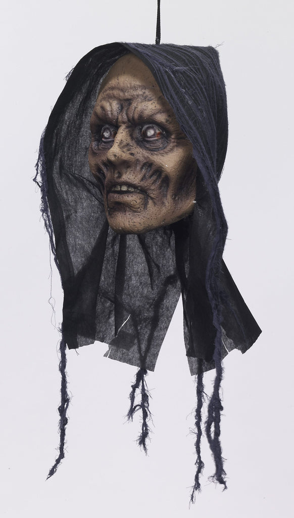 Hanging Head-Zombie - HalloweenCostumes4U.com - Accessories