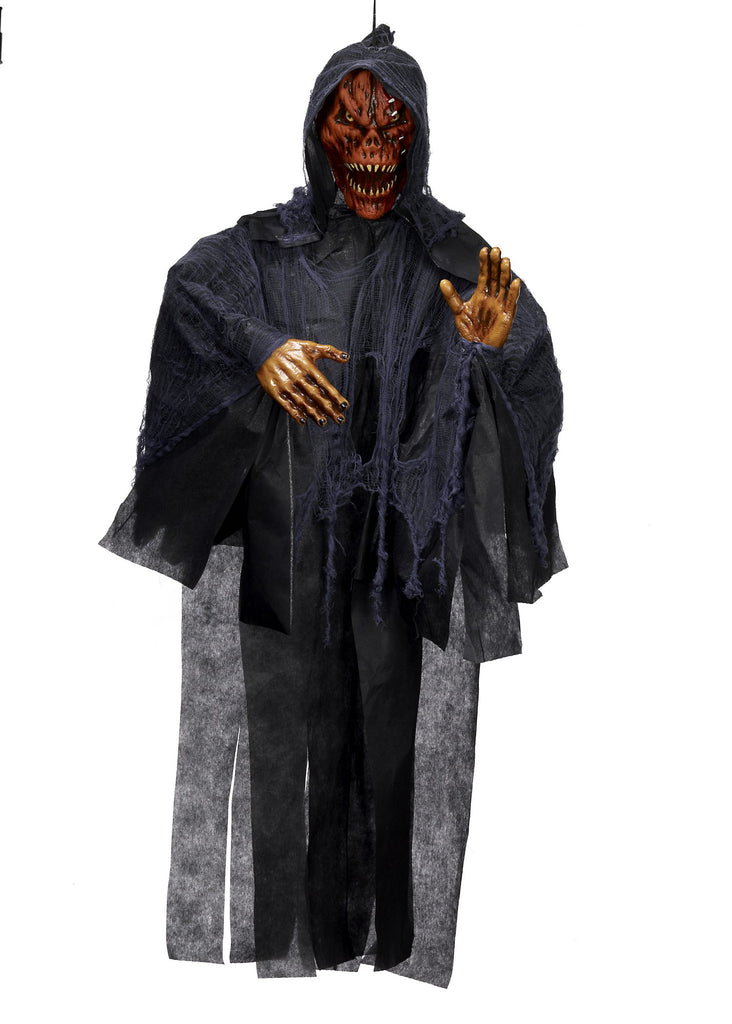 Hanging Prop-Pumpkin Reaper - HalloweenCostumes4U.com - Decorations