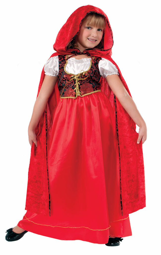 Girls Little Red Riding Hood Costume - HalloweenCostumes4U.com - Kids Costumes