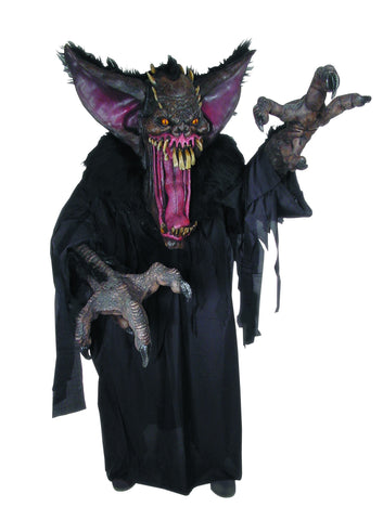 Adults Demon Bat Creature Reacher Costume - HalloweenCostumes4U.com - Adult Costumes