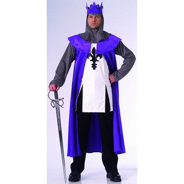 Mens Renaissance King Costume - HalloweenCostumes4U.com - Adult Costumes