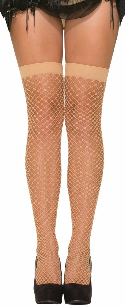 Roar.20's Nude Fishnets W/Gartr - HalloweenCostumes4U.com - Accessories