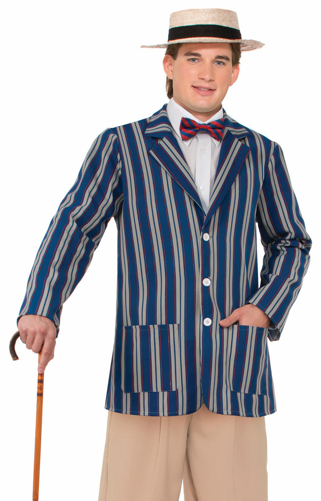 Roaring 20's Mens Boater Jacket - XL - HalloweenCostumes4U.com - Accessories
