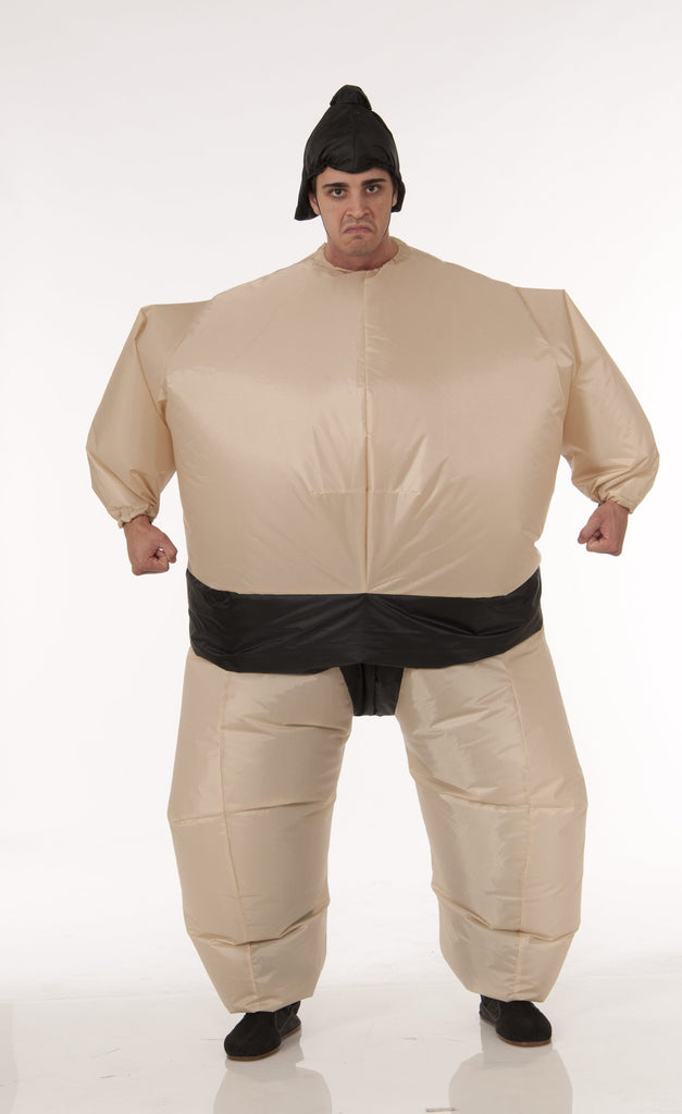 Costume - Battery Fan - Sumo Wrestler - HalloweenCostumes4U.com - Costumes