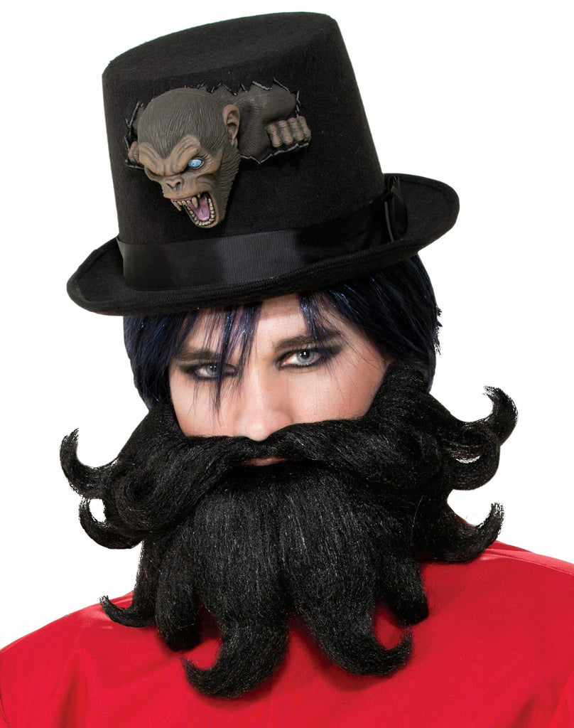 Scoundrel Moustache/Beard - HalloweenCostumes4U.com - Accessories