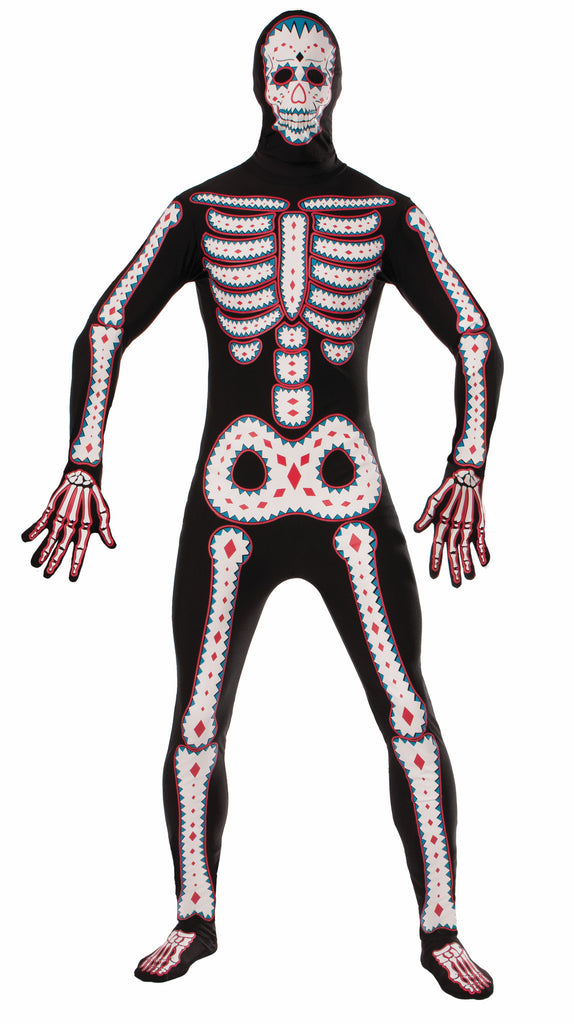 Disapearing Man - Day Of The Dead - XL - HalloweenCostumes4U.com - Costumes
